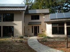Residential straw bale green building home design by Santa Cruz Architect Daniel Matthew Silvernail  http://santacruzconstructionguild.us/daniel-matthew-silvernail-architect/