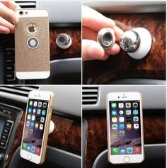 $6.99 - 360° Universal Magnetic Car Dash Hold Sticky Stand Holder Mobile Cell Phone #ebay #Electronics