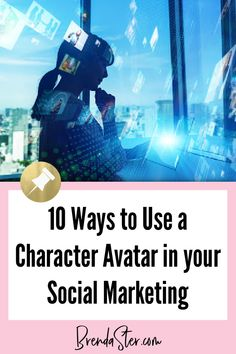 Use a character avatar to create unique, engaging graphics for your blog or small business. Read ten tips on how to use your character avatar. #SocialMedia #Graphics Don't forget to repin this for later!! Social Media Graphics // Social Media Tips // Graphics Tips // Character Avatars