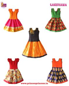 Top selling pattu pavadai from www.princenprincess.in