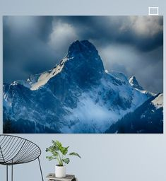 Stockhorn Poster - mimulux patricia no Mount Everest, Illustration, Poster, Mountains, Nature, Photography, Travel, Photos, Digital Art