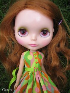 RARE Original 1972 Kenner Blythe Doll Sidepart Redhead CANADA US ONLY.