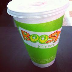 Boost juice.