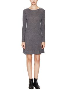 Cahsmere Boatneck Sweaterdress by Autumn Cashmere at Gilt
