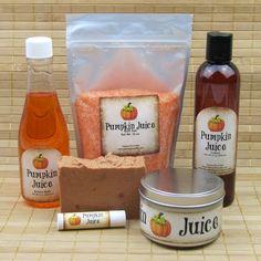 Pumpkin Juice Harry Potter Themed X-Large Gift Set - Bath Salt, Soy Candle…