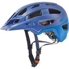 cycling helmet, uvex finale, royal blue-cyan mat