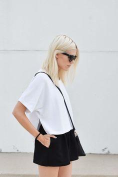 black + white + minimal