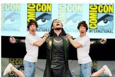 Lololololol dead with laughter benedict cumberbatch and Tom Hiddleston Loki ehehehehe<----THIS.