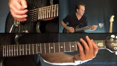Metallica - Ride the Lightning Guitar Lesson (Chords/Rhythms) Guitar Chord Progressions, Electric Guitar Lessons, Ride The Lightning, Blues Rock, Best Vibrators, Guitar Chords, Music Lessons, Artificial Intelligence, Four