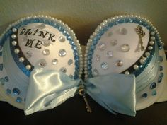 """Designed-for-you"" Custom Costume Bras/ Rave Bras by astanz91 on Etsy, $40.00"