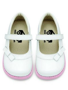 See Kai Run Toddler Girls Daphne White Patent Mary Jane Shoes