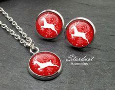 Schmuckset silber ✿ Rentier ✿ von Stardust Accessoires auf DaWanda.com
