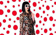 Louis Vuitton's Yayoi Kusama transparent trench coat