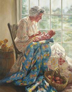 LDS Art - Women of Faith by Lynde Mott | Altus Fine Art