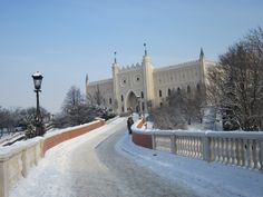 Bridge to the Lublin Castle from the old town