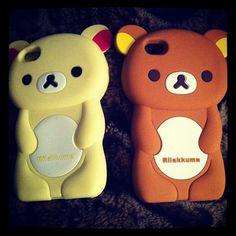 beary cute Matching Phone Cases, Rilakkuma, Hello Kitty, Best Friends, Cute, Fictional Characters, Iphone, Beat Friends, Bestfriends