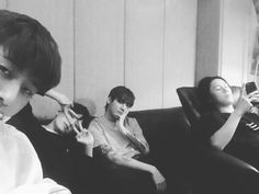 Hanbin, Seung, One and Rae Kim Hanbin Ikon, Chanwoo Ikon, Ikon Kpop, Jaewon One, Yg Trainee, Rapper, Jung Jaewon, Boy Squad, Weekly Idol