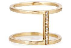 Beau Ring w/ Diamonds