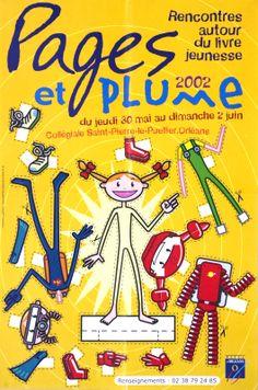 Pages et plume 2002: rencontres autor du livre jeunesse: du jeudi 30 mai au dimanche 2 juin, Collégiale Saint-Pierre-le-Pellier. Orléans/Mister Mi (2002)
