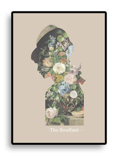 THE BOUFFANT ART PRINT. RUTH CRONE FOSTER