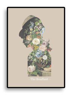 THE BOUFFANT ART PRINT. RUTH CRONE FOSTER
