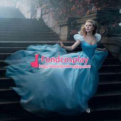 Disney Princess Cinderella dress Scarlett Johansson as Cinderella $168.2