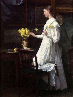 1894 Carl Thomsen (Danish, 1847-1912)