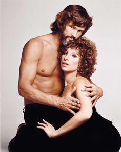 With Kris Kristofferson in A Star Is Born, 1976 // Photo: Streisand: In the Camera Eye (Abrams) (c) Francesco Scarvullo/Warner Bros.