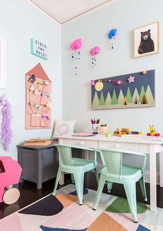 A Playful and Bright Playroom Reveal