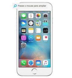 "iPhone 6 64GB Prata Tela 4.7"" iOS 8 4G Câmera 8MP << R$ 267673 >>"
