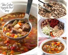 Slow Cooker Beef Vegetable Soup | Here Are 19 Insanely Popular Crock Pot Recipes