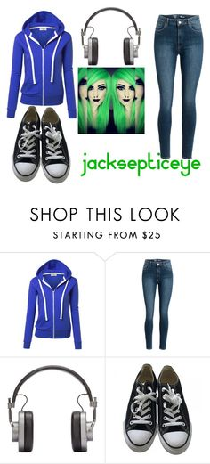 """""""Jacksepticeye"""" by jackierobertson on Polyvore featuring Master & Dynamic and Converse"""