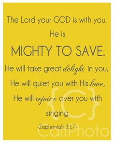 Lord is Mighty to save!!