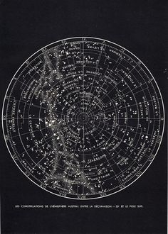vintage star chart based seating arrangement.  #hrvawedstyle