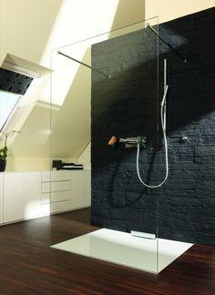 Duschfläche Xetis in weiß mit Wandablauf - Franz Kaldewei - Ahlen