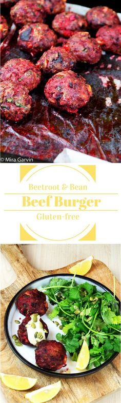 Cumin Flavoured Beetroot And Beef Mince Burger
