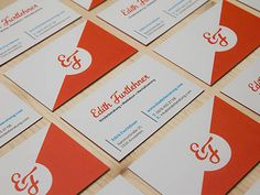 Edith Fuitehner Business Cards | Business Cards | The Design Inspiration