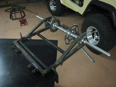 homemade go kart steering Mini Jeep, Mini Bike, Karting, Go Kart Chassis, Go Kart Steering, Go Kart Kits, Kart Cross, Homemade Go Kart, Go Kart Buggy