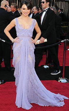 Mila Kunis Oscar dress. Literally my favorite dress ever to grace this planet!