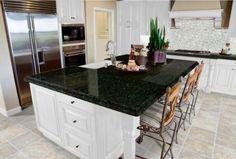 Design of Uba Tuba Granite Countertops for Kitchen