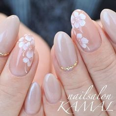 graduation ceremony Spring / All season / Graduation ceremony / Office / Hand-nailsalon KAMAL nail design. Classy Nails, Stylish Nails, Simple Nails, Cute Nails, Pink Nails, My Nails, Office Nails, Bridal Nail Art, Bride Nails