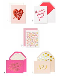 Dear Lover – Valentine's Day Cards – Beijos Events Picks