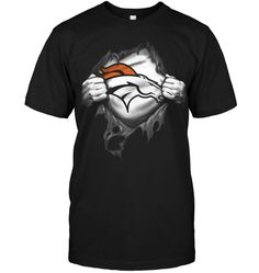 Broncos Apparel, Broncos Shirts, Tees, Mens Tops, T Shirt, Stuff To Buy, Black, Fashion, Supreme T Shirt