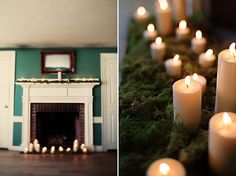 I can't wait to have my own place with a fireplace <3 for mossy candlelit nights.