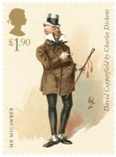 £1.90, Mr Micawber from David Copperfield