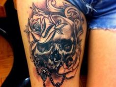 30 #Amazing #Skull #Tattoo Designs For Boys and Girls
