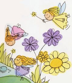 How to draw fairies at different angles