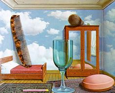 "10 Surrealist Rene Magritte Paintings | Cuded - ""Personal Values"""