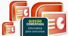 Veon Aprova Logo - Informática para Concursos: Questão Comentada para Concurso Público - PowerPoi...