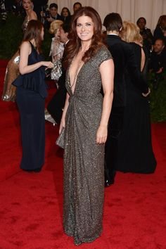 Met Gala 2012 - Debra Messing in Kaufmanfranco
